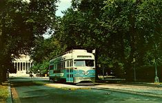 This pin shows a streetcar used to take the tourists around our nation's capital. The photo is from August 28, 1960. The streetcars had A/C which the tourists appreciated during the D.C. summers.