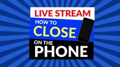 "Phone sales training live - How to Sell on the phone. Many ""sales experts"" out there do NOT know how to sell over the phone. Seriously the phone selling tech. Success Video, Entrepreneurship, Training, Live, Phone, Things To Sell, Telephone, Mobile Phones, Exercise"