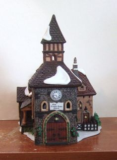 Dept 56 Dickens Village The Olde Camden Town Church #58346 (Y364EX)