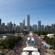 Visit Chicago and the Food Festival