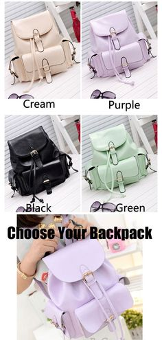 which color do you like? choose color for this backpack! #backpack #green #college #school #student #bag #rucksack