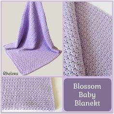 Blossom Baby Blanket-free instructions