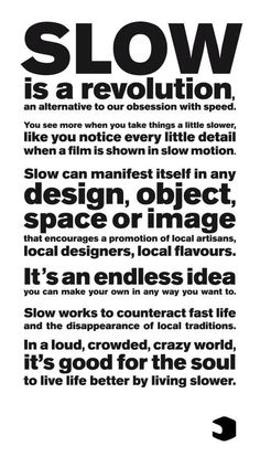 Filosofia slow fashion Part 1