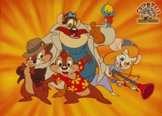 chip & dale rescue rangers