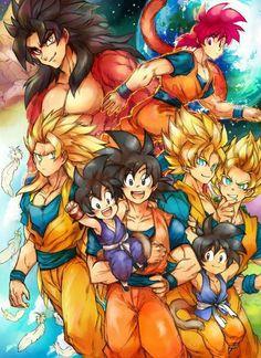 Dragon ball z Goku evolution Dragon Ball Z, Dragon Z, Bd Comics, Anime Comics, Manga Dbz, Akira, Db Z, Son Goku, Anime Art