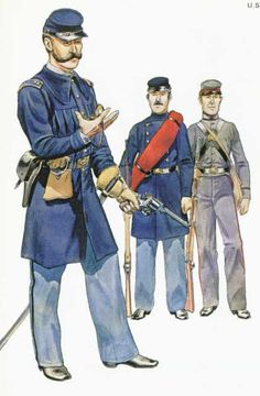 Officer and private Rhode Island Volunteers, and private 2nd New Hampshire Volunteers.