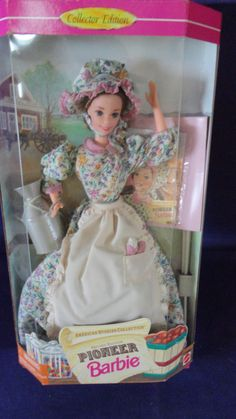 Vintage Pioneer Barbie Doll Collectors Edition by tennesseehills, $20.00