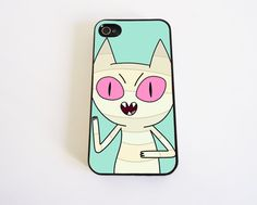 Adventure Time MeMow  case for iPhone 4 and iPhone by KonekoStore, $12.00