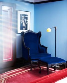 NYC Luxury Hotel Suites | Gramercy Park Hotel | Manhattan. In love with the chair and ottoman