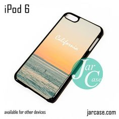 Caifornia Beach iPod Case For iPod 5 and iPod 6