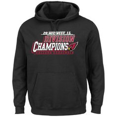 Majestic Arizona Cardinals Black 2015 NFC West Division Champions Pullover Hoodie
