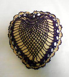 Vintage Sewing cushion Crocheted Pincushion  Pin cushion Sewing accessory Hand made