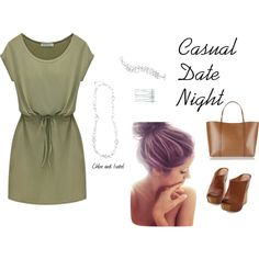Casual Date Night by melissa-nelson-shelton on Polyvore featuring polyvore, fashion, style, Dolce&Gabbana and Chloe + Isabel