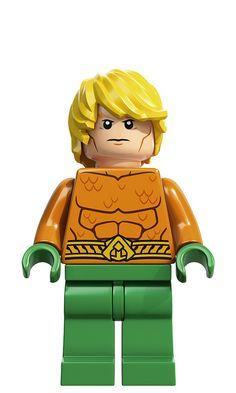 DC Universe AquaMan Lego Super Heroes Minifigure