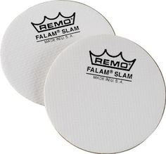 Remo Falam Slam Pad Kevlar Bass Drum Patch 2 Pack * Find out more about the great product at the image link. (Note:Amazon affiliate link)