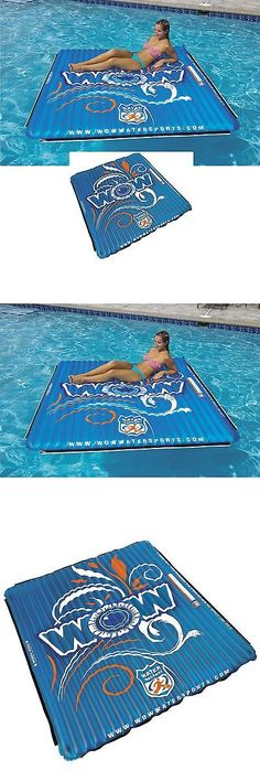 Tubing and Towables 71169: Wow 14-2080 Water Mat 1-3 Person Tube Inflatable Pool Floating Platform Lounge -> BUY IT NOW ONLY: $107.45 on eBay!