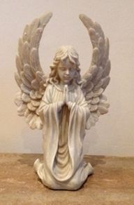 Kneeling Praying Angel Garden Ornament is a very ornate Angel figurine Kneeling down praying the detail of this ornament is extremely high £24.50