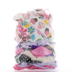 Grab a 1/2 pound treasure bag of ribbon at a great price! Available in prints and solids.  High quality cut-down ribbon scraps from the HairBow Center at a cheap discounted lower-than-wholesale price!