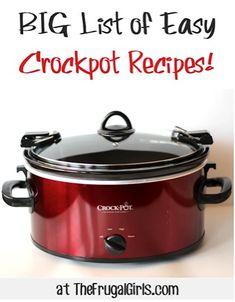 Easy Crockpot Recipes!
