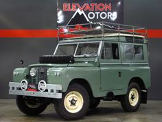 vintage land rover truck | AutoTrader Classics - 1960 Land Rover Series II Sport Utility (SUV ...