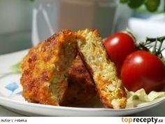 Květákovo - sýrové placky s petrželkou a muškátovou vůní