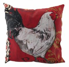 Save $ 10 when you buy `La Provence` Hen Indoor/Outdoor Throw Pillow 20 In. at P