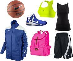 """Basketball outfit"" by tallbigfan, via Polyvore"