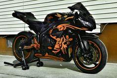 07 Black & Orange Graffiti Build - Page 28 : Honda CBR 600RR Sportbike Forum : 600RR.Net