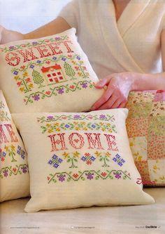 Home Sweet Home pillows.  Gallery.ru / Фото #29 - 15 - benji67
