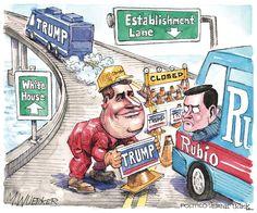 Matt Wuerker Editorial Cartoon, February 29, 2016     on GoComics.com