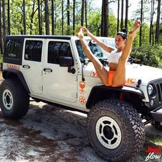 Jeep Flow — Once again she's at it again! Big shoutout to...