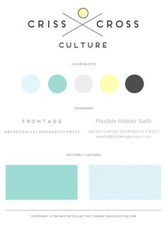 Modern + Organic // Two Recent Blog Designs - The Nectar Collective