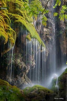 South Waterfall ( Güney Şelalesi ) Denizli Turkey By Faruk Akbaş