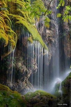 South Waterfall ( Güney Şelalesi ) Denizli Turkey By Faruk Akbaş