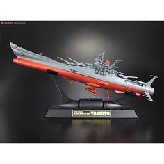 Bandai soul of chogokin gx-57 Space Battleship Yamato  Bandai soul of chogokin Space Battleship Yamato  45 cm di lunghezza Perfetta Riproduzione     ...