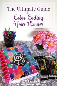 Color-coding your planner can take your organizational skills to a whole new level!  Great tips to get started & which pens are the best! #MyGo2Pen #ad