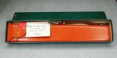 Vtg Keuffel & Esser Slide Rule 4081-3S Log Log Duplex Decitrig 1947 With Case
