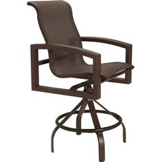 "Tropitone 740527-30 Lakeside Sling 30"" Swivel Bar Stool"