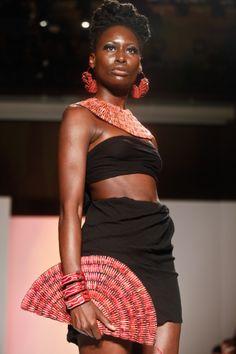 Design By U @afwny 2011 #fashion #africanfashion #pr #luxury   #africafashionweek in #ny #jewelry #accessories