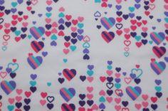 The Matrix Hearts Cotton Jersey Knit Fabric