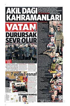 Gazete 1. Birinci Sayfaları - Net Gazete