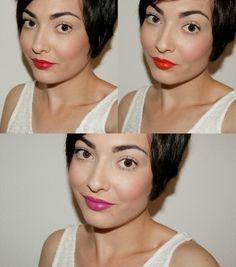 Tendencia primavera - verano 2015 en colores de labios #makeup #trend #lips