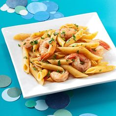 Creole Shrimp Pasta Recipe -Having grown up in Louisiana, we love the fresh Gulf shrimp season. Tossed with a spicy Creole sauce, this pasta dish pays homage to the bounty of the bayou. —Melissa Cox, Bossier City, Louisiana