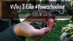 The Unlikely Homeschool: Why I Like Homeschooling: 100+ Kids Weigh In