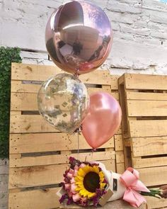 You are my sunshine my only sunshine when skies are gray please don't take my sunshine away Diy Party Gifts, Diy Gifts, 21st Birthday Gifts, Diy Birthday, Balloon Decorations, Birthday Decorations, Balloon Bouquet, Birthday Balloons, Boyfriend Gifts