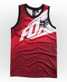 Guys Tanks - Enterprize Jersey #FoxHead #FoxRacing #tanks