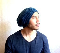 Slouch beanie Christmas gift idea winter cap snow by MissTopKnot, $32.00
