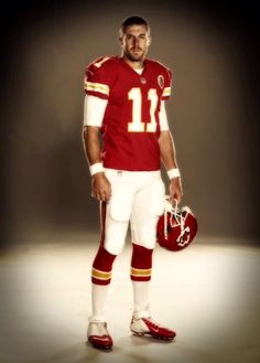 Alex Smith, I would love for KC to play SF in the Superbowl...