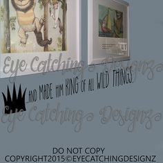 Where The Wild Things Are King of All Wild by EyeCatchingDesignz