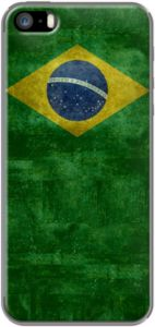 Vintage Brazilian flag - officially the Federative Republic of Brazil By BruceStanfieldArtist for iPhone 5/5s